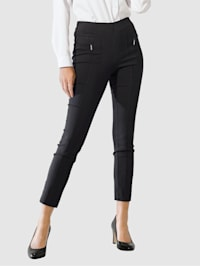 Pantalon 7/8 en bengaline hautement extensible