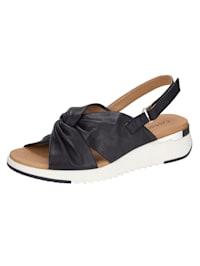Sandaaltje in moderne geknoopte look