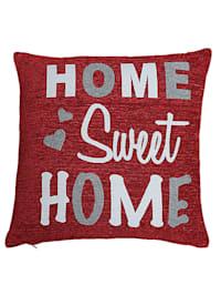 Kissenhülle 'Sweet Home'