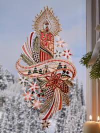 Okenná dekorácia Sviečka
