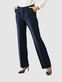 Bukse med vide ben