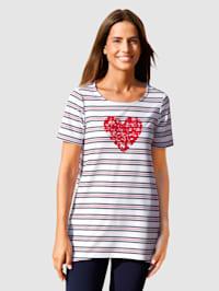 Tričko v námořnickém designu