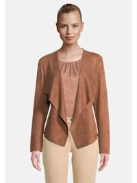 Casual-Jacke ohne Verschluss Material