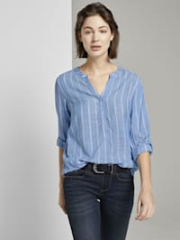 Strukturierte Bluse