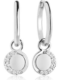 Sif Jakobs Jewellery Damen-Ohrhänger 925er Silber Zirkonia