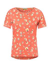 T-Shirt mit Blumen Muster