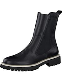 Major Calf Black Chelsea Boots