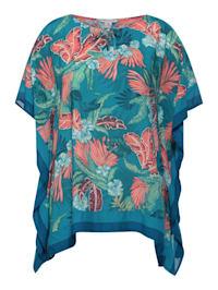 Bluse im Poncho Style
