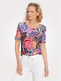 Shirt mit Floraldruck
