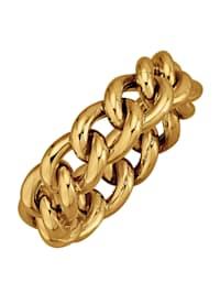 Ketten-Ring in Gelbgold 375