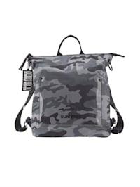 Ryggsäck som kan bäras på olika sätt 2 delar