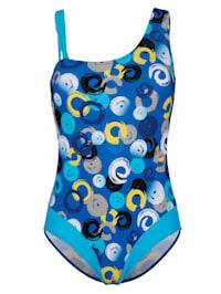Plavky s módně řešenými ramínky