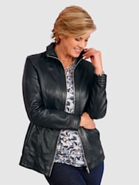 Leather Jacket Made from soft leather