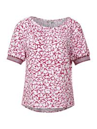 Shirt mit Carmen Ausschnitt