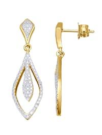 Ohrstecker mit Diamanten