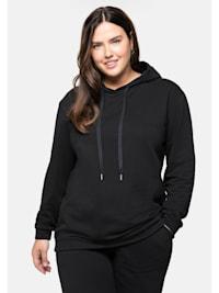 Sweatshirt mit hohem Baumwoll-Anteil