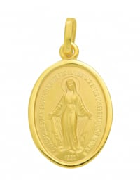 Damen Goldschmuck 585 Gold Anhänger Milagrosa