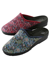Papuče z elastického materiálu