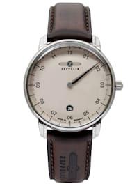 Herren-Armbanduhr New Captain's Line Monotimer Braun/Beige