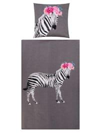 Bettwäsche, Zebra