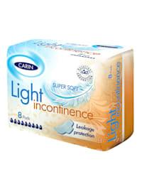 Serviettes d'incontinence Carin Light - Incontinence légère