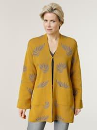 Gilet maille de forme kimono tendance