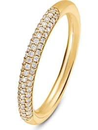 CHRIST Damen-Damenring 61 Diamant