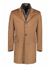Mantel aus hochwertigem Wollstoff