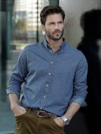 Jeansoverhemd van denim
