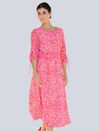 Klänning i exklusivt mönster