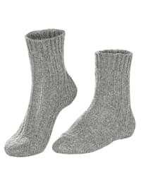 Chaussettes en laine À part d'alpaga