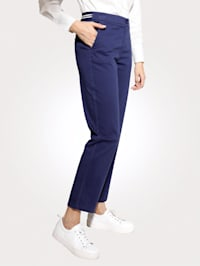 Nohavice s čiastočne elastickým pásom