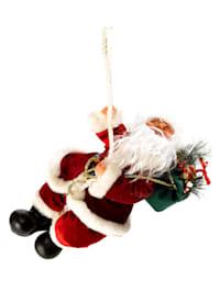 Kerstman aan touw