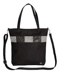 Väska med glittrande effekter