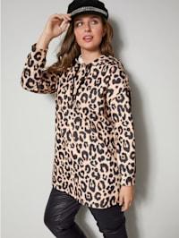 Sweatshirt in animallook