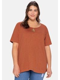 T-Shirt aus leichter Flammgarnqualität