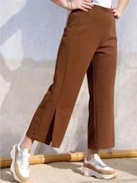 Jupe-culotte à ceinture élastiquée