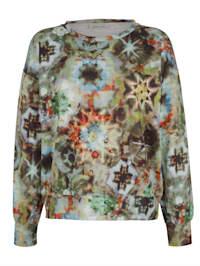 Sweatshirt mit modischem Druck