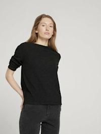 Gemustertes Sweatshirt