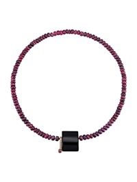 Collier de rubis avec fermoir