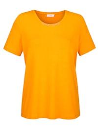 Shirt van comfortabele jersey