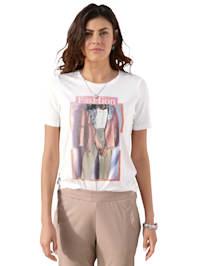 Shirt mit Motiv im Vorderteil