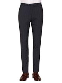 Karierte Anzug-Hose