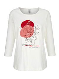T-shirt à imprimé mode devant