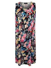 Kjole med blomsterprint
