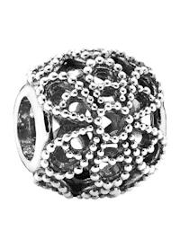 Charm - Offen gearbeitetes Metallperlen-Blüten - 791282
