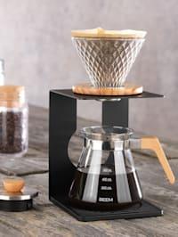 Manuelles 4tlg. Kaffeebereiter-Set 'Pour Over', 4 Tassen