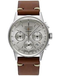 Herrenuhr Chronograph G38 Dessau Lederband braun