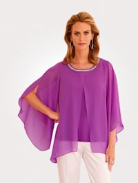 Blouse in a layered design