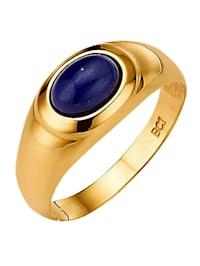 Bague à lapis-lazuli